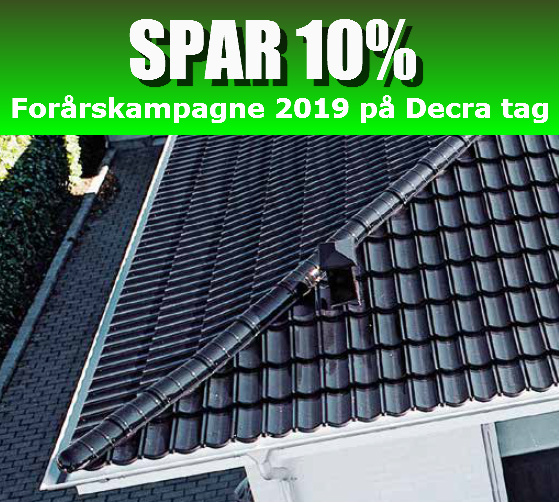 Forårskampagne på Decra Ståltag 2019 - Nyt-tag.com