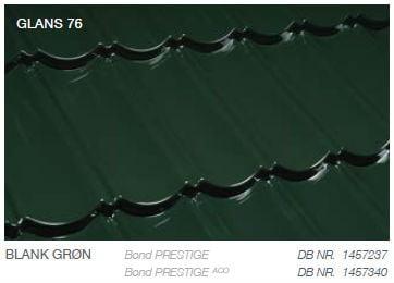 Metrotile Bond Prestige Farve Blank Grøn