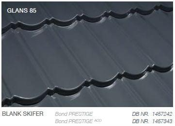 Metrotile Bond Prestige Farve Blank Skifer
