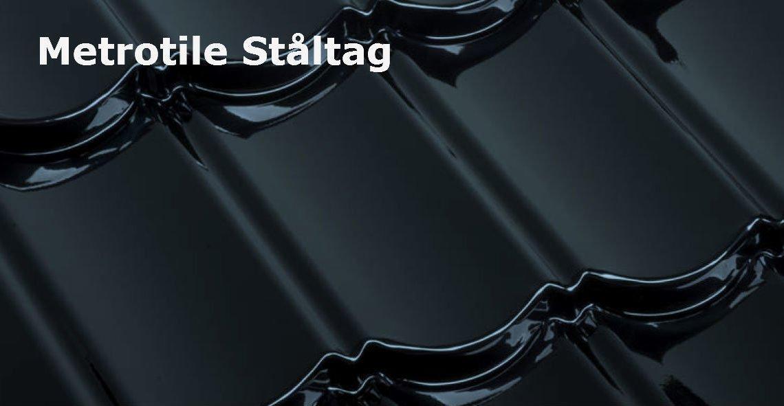 Metrotile Ståltag med HELE 40 års garanti – Beregn pris online