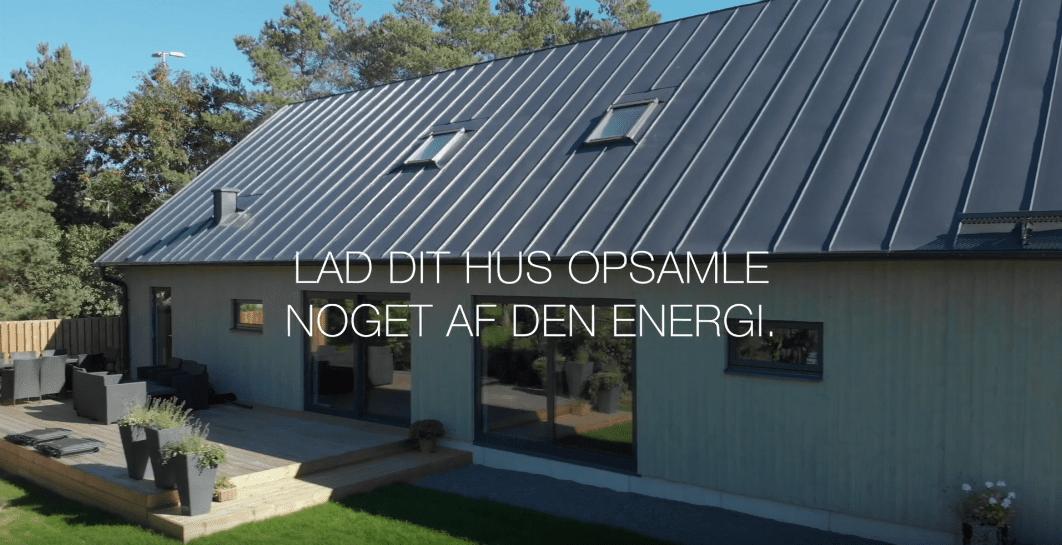 Lindab SolarRoof DK Ståltag med integrerede solceller 6